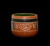 Maya vase stock photos