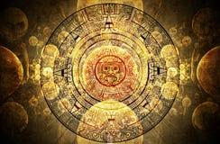 Maya voorspelling Royalty-vrije Stock Foto's