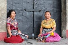 Maya vrouwen Stock Afbeelding