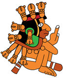 Maya warrior Royalty Free Stock Photography