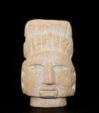 Maya warrior figure masc Royalty Free Stock Photography