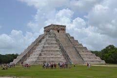 Maya Yucatan Mexi�о ChichenItza Kukulkan staden  Stock Photo