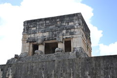 Maya Yucatan Mexi�о ChichenItza Kukulkan staden Royalty Free Stock Photos