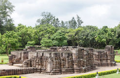Mayadevi temple from II level porch, Sun temple Stock Photography