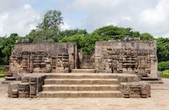 Mayadevi temple at Sun temple complex Stock Photo