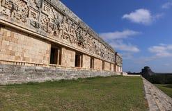 Mayagouverneur ` s Palast - Uxmal, Mexiko Stockfotos