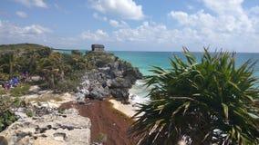 Mayaküste lizenzfreie stockfotografie