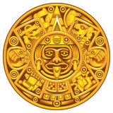 Mayakalender Stockfotos