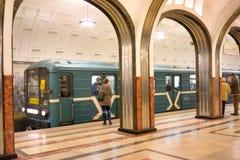 Mayakovskaya metro station Stock Photography