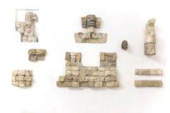 mayan återstår Royaltyfri Bild