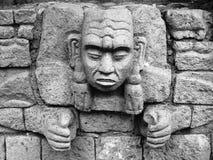 mayan γλυπτό Στοκ Εικόνες