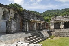 Mayan καταστροφές Στοκ φωτογραφίες με δικαίωμα ελεύθερης χρήσης