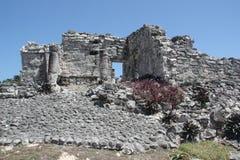 mayan καταστροφή Στοκ εικόνα με δικαίωμα ελεύθερης χρήσης