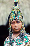 Mayan πολεμιστής Στοκ εικόνα με δικαίωμα ελεύθερης χρήσης