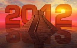 mayan προφητεία ελεύθερη απεικόνιση δικαιώματος