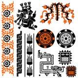 mayan πρότυπα Στοκ Εικόνες
