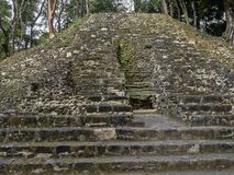 Mayan archaeological monuments of Xunantunich, Belize. The Mayan archaeological monuments of Xunantunich, Belize stock images