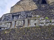Mayan archaeological monuments of Xunantunich, Belize. The Mayan archaeological monuments of Xunantunich, Belize royalty free stock images