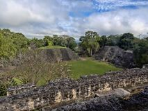 Mayan archaeological monuments of Xunantunich, Belize. The Mayan archaeological monuments of Xunantunich, Belize stock image