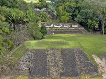 Mayan archaeological monuments of Xunantunich, Belize. The Mayan archaeological monuments of Xunantunich, Belize royalty free stock photography