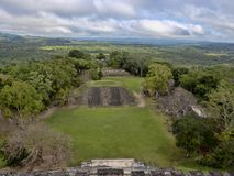 Mayan archaeological monuments of Xunantunich, Belize. The Mayan archaeological monuments of Xunantunich, Belize stock photos