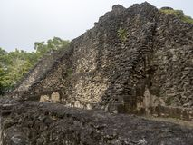 Mayan archaeological monuments of Xunantunich, Belize. One Mayan archaeological monuments of Xunantunich, Belize stock images