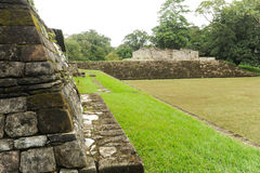Mayan archaeological Site of Quirigua Stock Photos