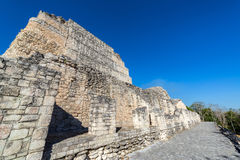 Mayan Architecture in Becan, Mexico Royalty Free Stock Photos