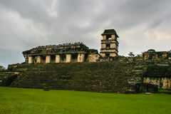 Mayan architectuur Stock Fotografie