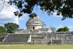 Mayan architectuur royalty-vrije stock fotografie