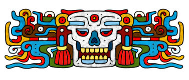 Mayan AtrWork Royalty Free Stock Photo
