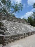 Mayan ball court Stock Images