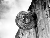 Mayan Ball Court Goal RIng Royalty Free Stock Photography