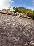 A Mayan Ball field. Close up in a sunny day Stock Images
