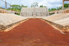 Mayan Ballgame Court Stock Photography