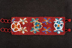 Mayan bead handcrafted bracelet Royalty Free Stock Images