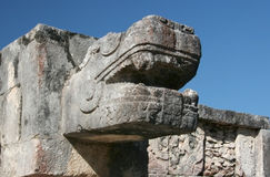 Mayan beast Stock Image