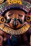 Mayan beeldhouwwerk Stock Afbeelding