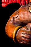 Mayan beeldhouwwerk Stock Foto
