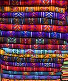 Mayan Blankets 3. Mayan Blankets for sale in Chiapas, Mexico Stock Images