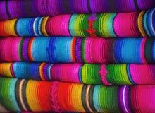 Mayan blankets Stock Photo