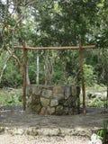 Mayan byinvånare väller fram Arkivbild