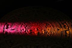 Mayan calendar. Close up of Mayan calendar Royalty Free Stock Images
