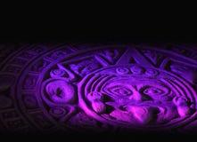 Mayan calendar. Royalty Free Stock Image