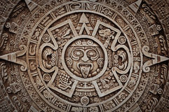 Mayan Calendar. Ancient Mayan Calendar for Sale in Mexico Royalty Free Stock Image