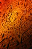 Mayan calendar. Royalty Free Stock Images