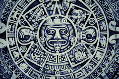 Mayan Calendar Background Royalty Free Stock Photography