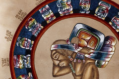 Mayan calendar Stock Images
