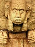 Mayan Carving Royalty Free Stock Image