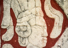Mayan carving Royalty Free Stock Images